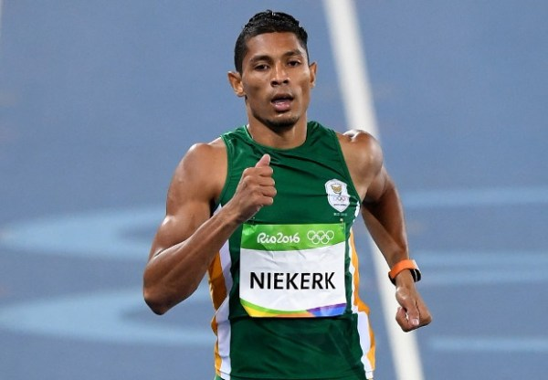IAAF Athlete of the year: van Niekerk on, Gatlin off