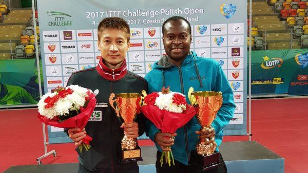 Aruna Quadri wins ITTF Challenge Polish Open
