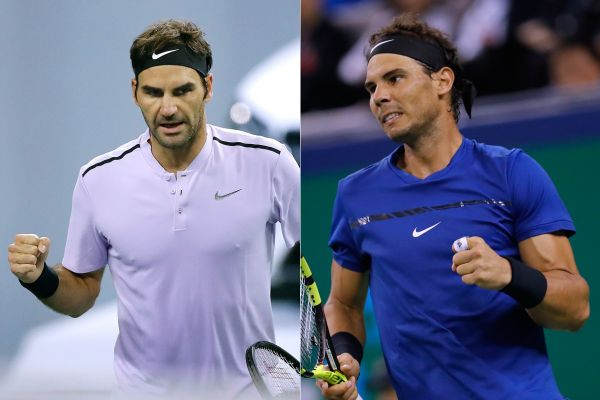 Rafa Nadal and Roger Federer clash in 24th career final
