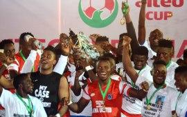 Akwa United win inaugural AITEO Cup in Lagos