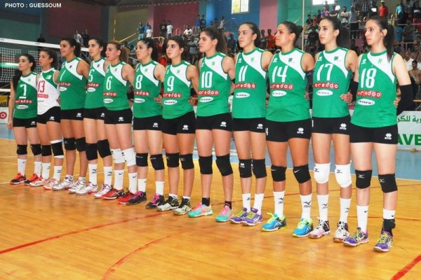 Algeria female volleyball team end Africa Nations Cup preparations