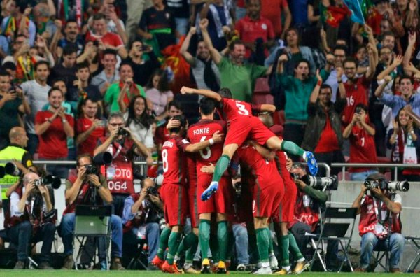 Russia 2018 WCQ: Portugal beat Switzerland to qualify, the Dutch miss out