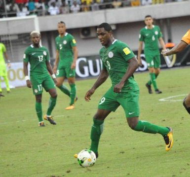 AFCON2019Q: Ighalo's brace inspire Eagles to Libya win