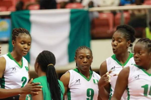 Volleyball: Nigeria crash out of Africa cup of Nations in Cameroon