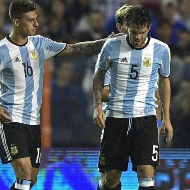 Argentina 0-0 Peru: Gago ruptures knee ligaments