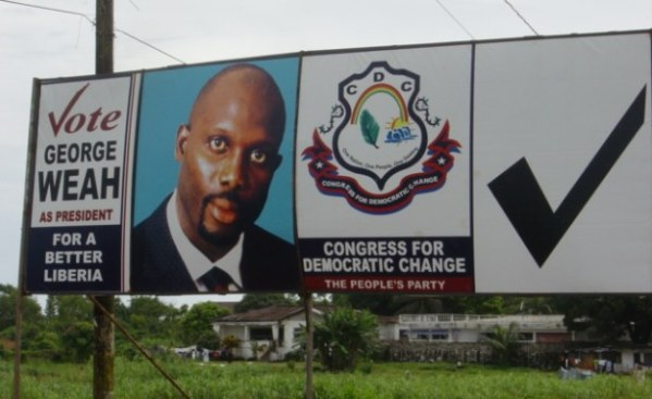 From the Pitch to Presidency: Can George Weah make it this time?