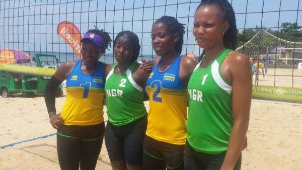 Beach Volleyball: Nigeria female team qualifies for Semifinals