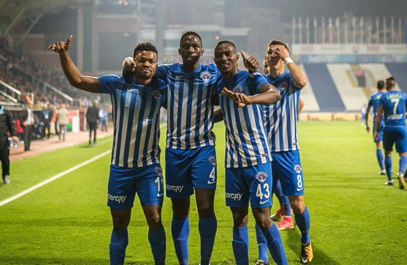 Super Eagles in Europe: Nwakaeme scores twice, Agu on target again, as Kayode's Girona shock Real Madrid