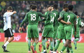 Alex Iwobi stars as Nigeria outclass Seleçion 4-2 in Russia