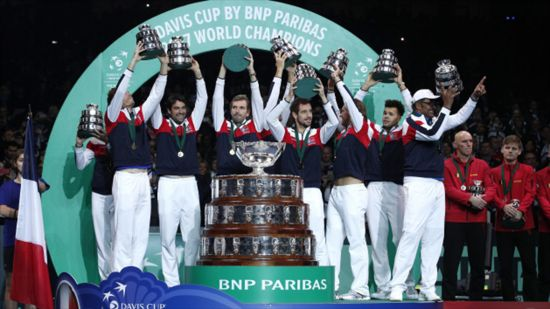 France beat Belgium to clinch 10th Davis Cup title