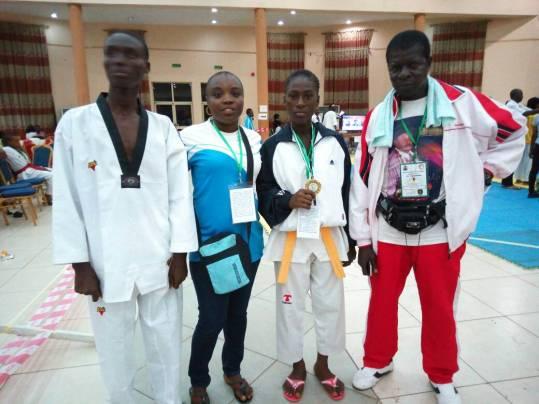 Taekwondo: Nigeria Taekwondo Federation invites NYG Gold medallists to camp