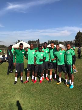 Eagles leave for Algeria, Rohr to face local press on Thursday night