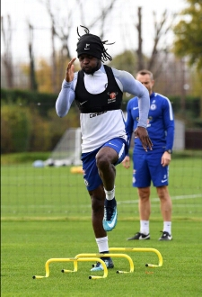 Super Eagles forward, Victor Moses returns to training