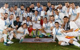 Zidane, players react as Real Madrid defend world title