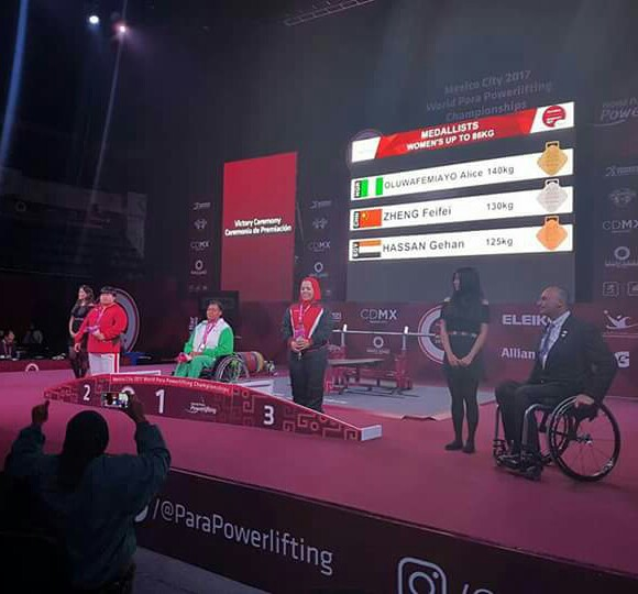 Para Powerlifting: Oluwafemiayo sets new WR in women's up to 86kg