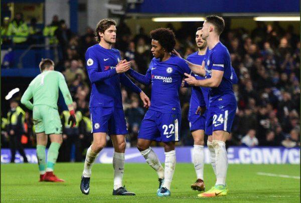 PL: Five-star Chelsea rout Stoke, Allardyce's Everton finally lose
