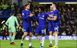 PL: Five-star Chelsea rout Stoke, Allardyce's Everton finally lose