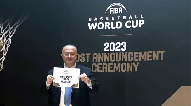 Philippines/Japan/Indonesia win right to host 2023 FIBA World Cup
