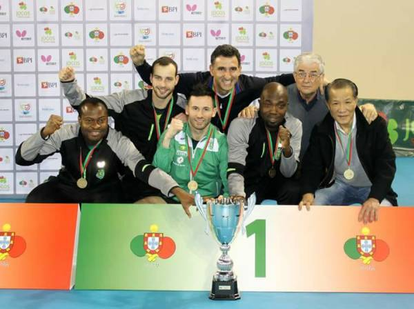 Table-Tennis: Quadri inspires Sporting to lift Portuguese Cup