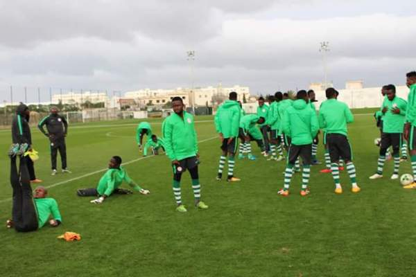 CHAN 2018: Eagles resume training after break, ministerial visit