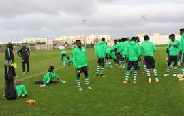 CHAN 2018: Eagles resume training after break, ministerial visit