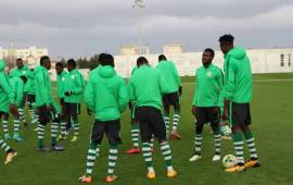 CHAN 2018: Snippets from Super Eagles camp