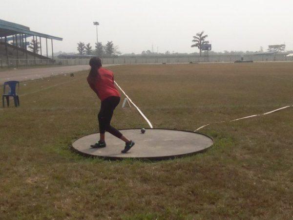 AFN Golden League: Obisesan breaks personal record