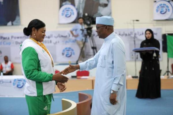 Para Powerlifting: Oluwafemiayo breaks world record in Dubai