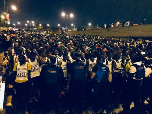 Drama, fun and more drama at the Lagos City Marathon