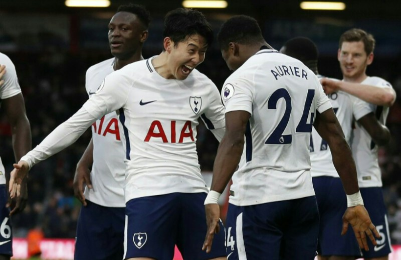 Premier League: Son at the double as Spurs hammer Cherries