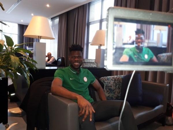 I am not mad, says Eagles goalkeeper Uzoho