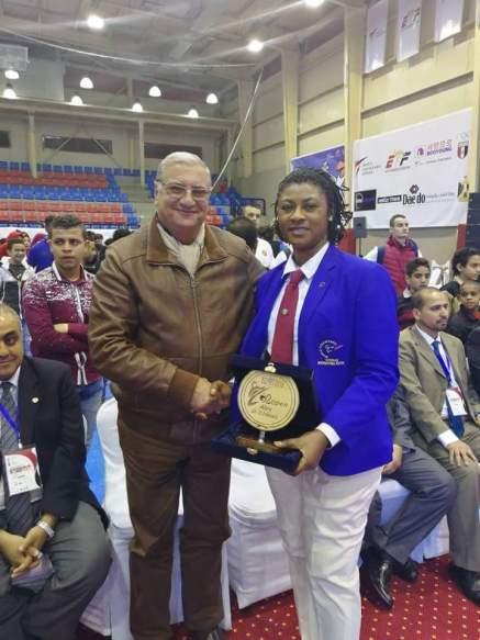 Taekwondo: President NTF bags best referee at Egypt Open