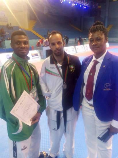 Para Taekwondo: Ukpera wins silver for Nigeria in Morocco