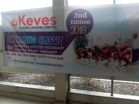 Port Harcourt Sports Club holds Swimming Classics for kids