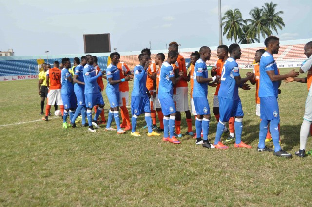 NPFL: Anaemena, Maikaba blame pitch for stalemate