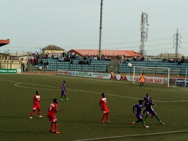 NPFL: Effiong's strike hands Warriors first away win