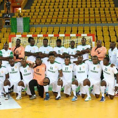 Handball: Nigeria male senior team disbanded