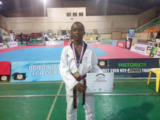Elijah Agada: I started Taekwondo at the age of 4