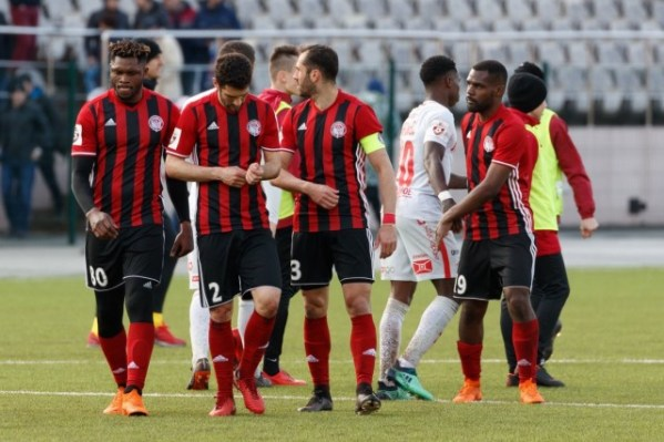 Brian Idowu's FC Amkar relegated for financial insecurity