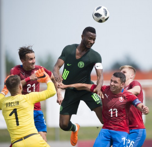 Russia 2018: Eagles lose to Czech in final warm-up game