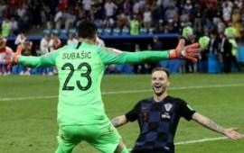 Russia 2018: Rakitic shoots Croatia into last four