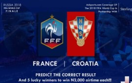 2018 World Cup Final: Predict and Win Airtime