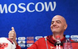 Infantino warns Nigeria over impending  FIFA ban