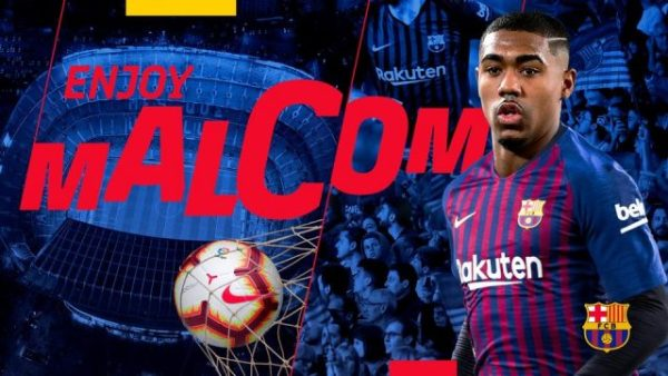 Malcom set to join Barcelona from Bordeaux