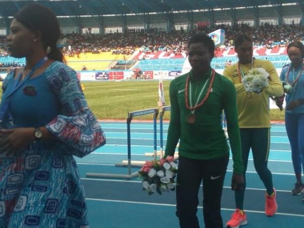 Asaba 2018: Yinka Ajayi wins bronze in the 400m