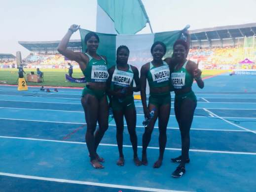 Asaba 2018: Team Nigeria win 7 medals on day 3