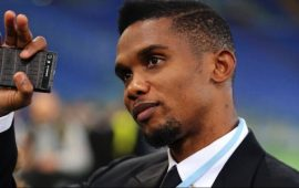 Eto'o under fire after calling to vote for Cameroon president