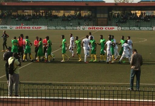 AITEO Cup: Victor Dennis' free kick books Q/F for Kano Pillars