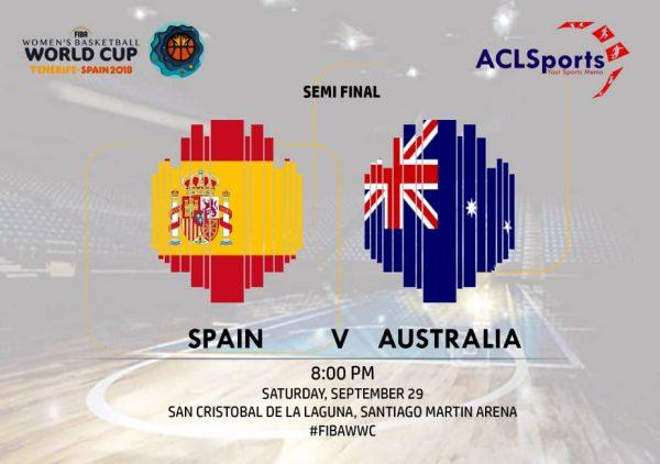 2018 FIBAWWC semi-final: Hosts Spain v Australia and Liz Cambage
