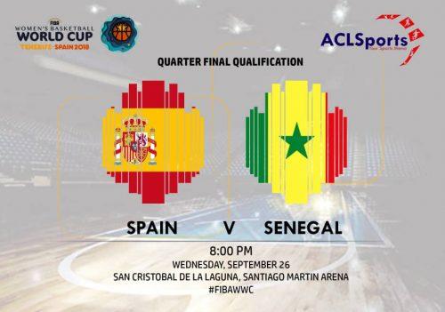 FIBAWWC Preview: Eurobasket champions Spain vs Senegal